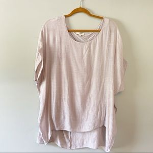 Umgee Slouchy Tunic Top